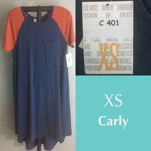 LuLaRoe Carly dress  - XS